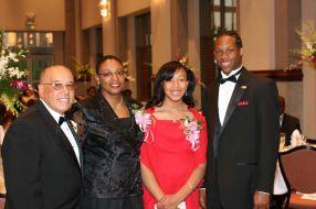 Dr. Molina, Mrs. Molina, Nia, and Tyrell