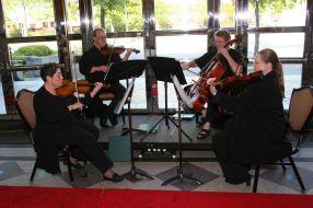 Rosewood Quartet (Claire Weil, Allen Pirtle, Greta Champlin, and Dawn Heese