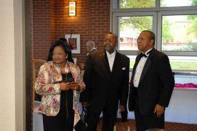 Mrs. Janese Burge, Harold Stoudamire and Mr. Burge