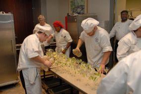 Preparation of the Melon Sorbet