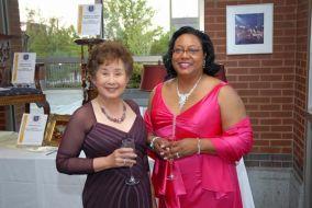 Sieu Tang Wood and Dr. Johnson