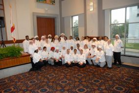 Students in the Culinary Arts program