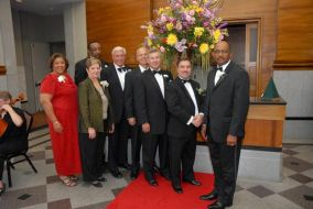 Trenholm Tech Foundation board members and Mr. Munnerlyn