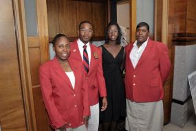 Latonya Finney, Jacob Perry, LaKendra Young, and Stacy Grant