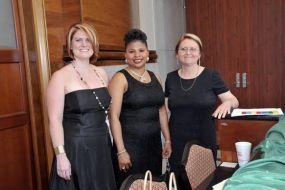Erica Giles, Ann Vernon, and Patricia Griggs