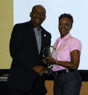(Right:) Renita Scott, 2012 Leadership Graduate