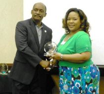 (Right:) Tamara Ward 2012 Leadership Graduate