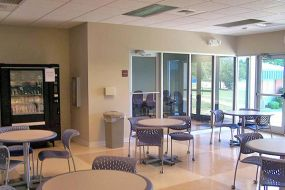 (After photo) New student lounge, E. Sharpe Student Center