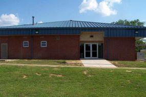(After photo) Exterior, North entrance, E. Sharpe Student Center