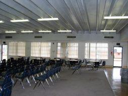 (Before photo) Auditorium, E. Sharpe Student Center