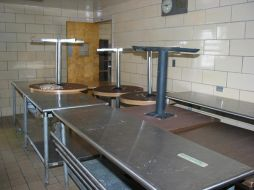(Before photo) Cafeteria, E. Sharpe Student Center