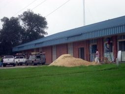 (Before photo) Exterior, EMS-Building E