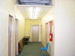 (Before photo) Hallway, EMS-Building E