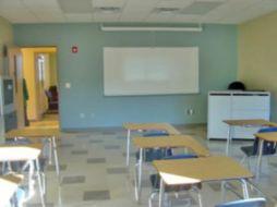 (After photo) Classroom, EMS-Building E