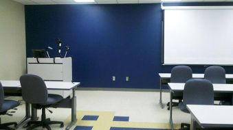 (After photo) Classroom, Joseph Dickerson Educational Center
