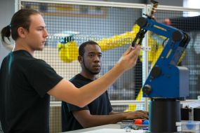 Operator positions in the robotics field usually require an associate degree or technical certificate.