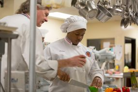 Turn your passion for cooking into a career through our Culinary Arts Program.