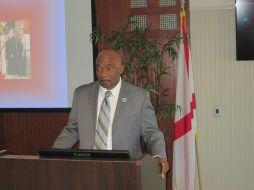 President Munnerlyn brings remarks