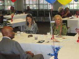 Allison Holt, Janice Holt and President Munnerlyn