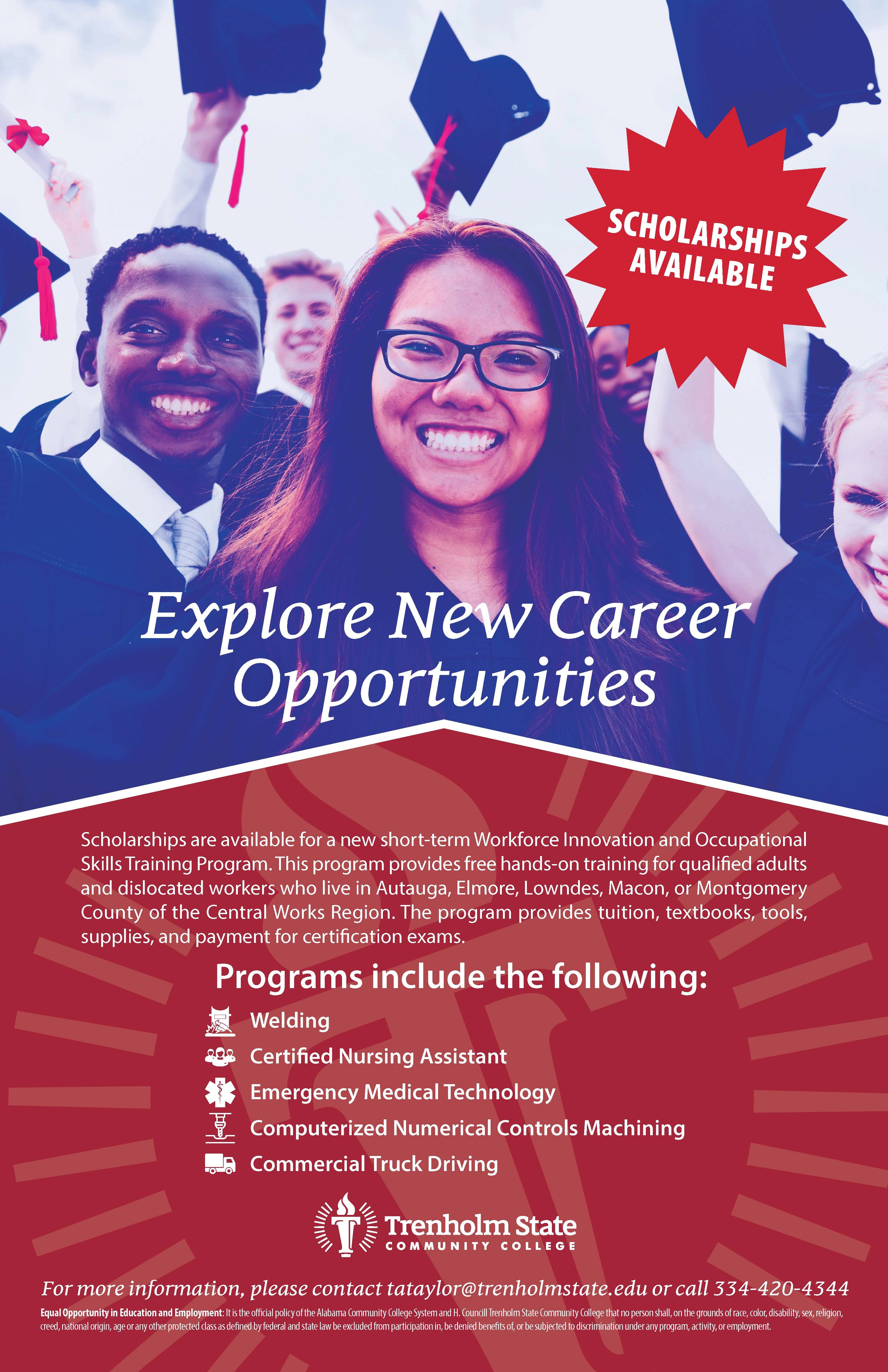 ew Career Opportunities